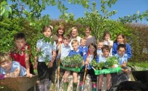 Stanton Drew School Gardeners!